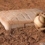 Baseball-near-Second-Base